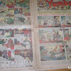 Tebeos: YUMBO 1935 EL NUMERO 86 CARPETA BIBLIOTECA. Lote 114126943