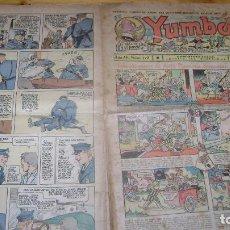 Tebeos: YUMBO 1935 EL NUMERO 123 CARPETA BIBLIOTECA. Lote 114127383