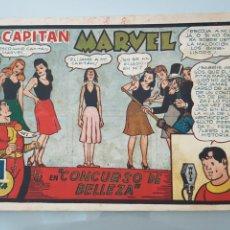 Tebeos: EL CAPITÁN MARVEL CONCURSO DE BELLEZA 3 ORIGINAL 1947 HISPANO AMERICANA COMPLETO. Lote 114332306