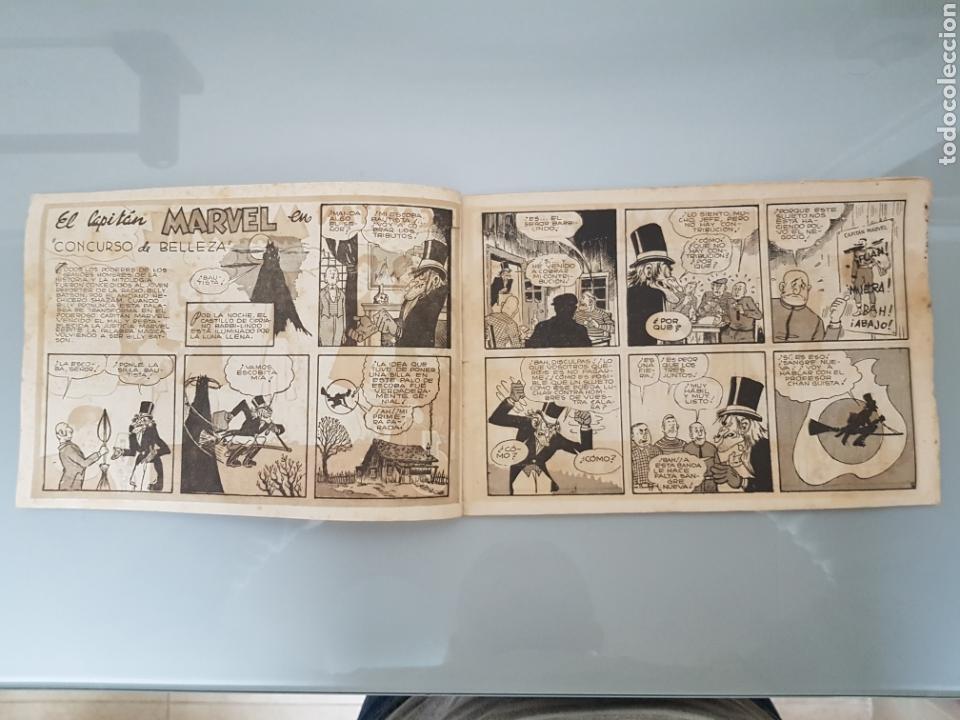 Tebeos: EL CAPITÁN MARVEL CONCURSO DE BELLEZA 3 ORIGINAL 1947 HISPANO AMERICANA COMPLETO - Foto 2 - 114332306