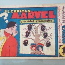 Tebeos: EL CAPITÁN MARVEL SU ÁRBOL GENEALÓGICO 16 ORIGINAL 1947 HISPANO AMERICANA COMPLETO. Lote 114333627