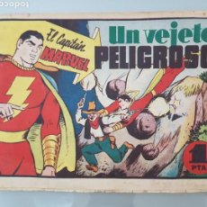 Tebeos: EL CAPITÁN MARVEL VEJETE PELIGROSO 11 ORIGINAL 1947 HISPANO AMERICANA COMPLETO. Lote 114335731