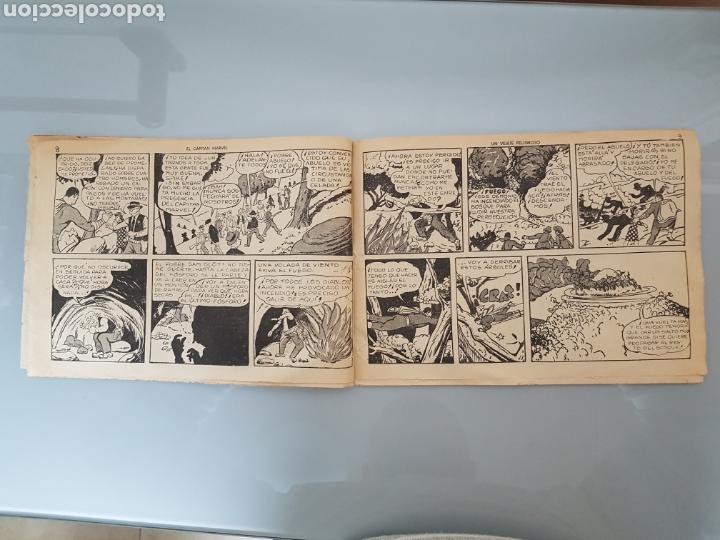 Tebeos: EL CAPITÁN MARVEL VEJETE PELIGROSO 11 ORIGINAL 1947 HISPANO AMERICANA COMPLETO - Foto 5 - 114335731