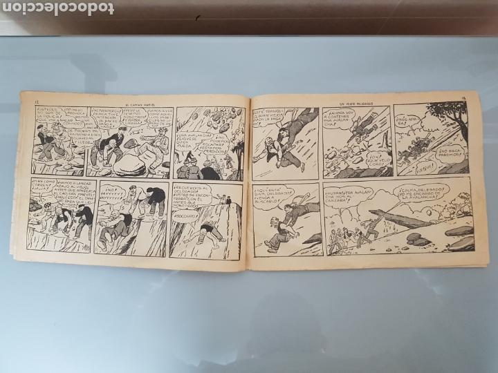 Tebeos: EL CAPITÁN MARVEL VEJETE PELIGROSO 11 ORIGINAL 1947 HISPANO AMERICANA COMPLETO - Foto 7 - 114335731