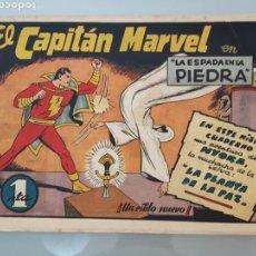 Tebeos: EL CAPITÁN MARVEL LA ESPADA EN LA PIEDRA 4 ORIGINAL 1947 HISPANO AMERICANA COMPLETO. Lote 114338146