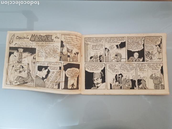 Tebeos: EL CAPITÁN MARVEL LA ESPADA EN LA PIEDRA 4 ORIGINAL 1947 HISPANO AMERICANA COMPLETO - Foto 2 - 114338146