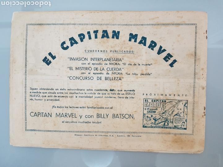 Tebeos: EL CAPITÁN MARVEL LA ESPADA EN LA PIEDRA 4 ORIGINAL 1947 HISPANO AMERICANA COMPLETO - Foto 9 - 114338146