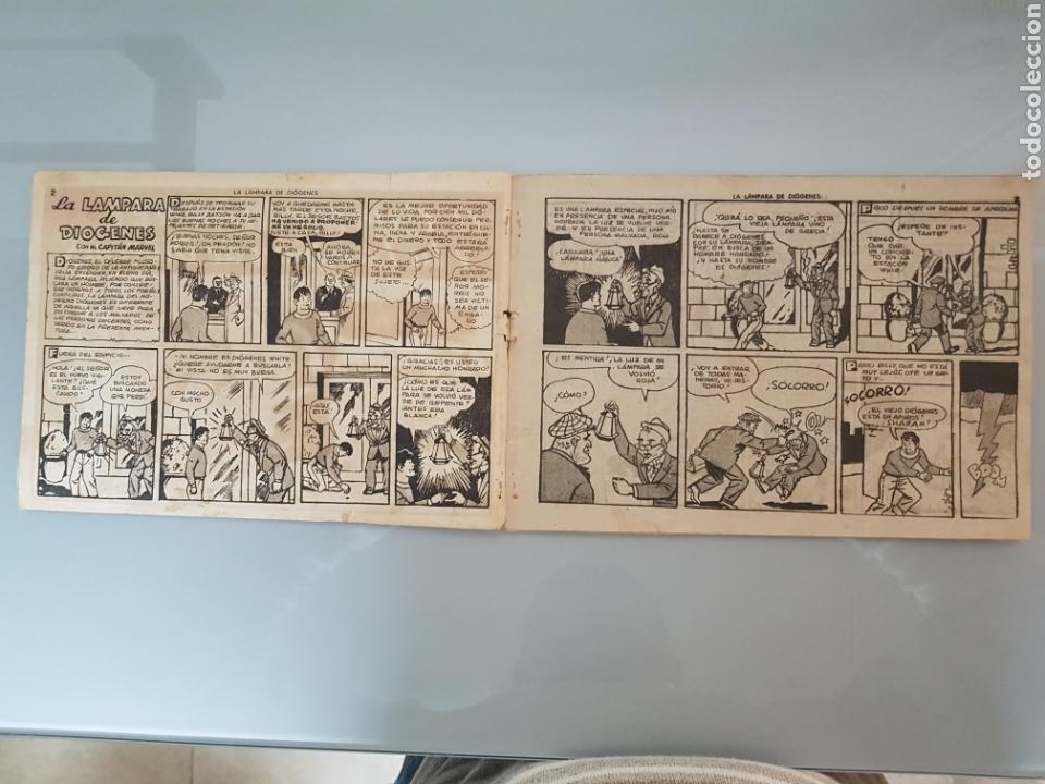 Tebeos: EL CAPITÁN MARVEL LA LÁMPARA DE DIOGENES 44 ORIGINAL 1947 HISPANO AMERICANA COMPLETO - Foto 2 - 114341652