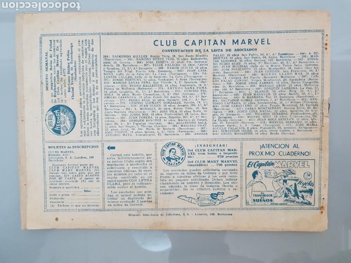 Tebeos: EL CAPITÁN MARVEL LA LÁMPARA DE DIOGENES 44 ORIGINAL 1947 HISPANO AMERICANA COMPLETO - Foto 9 - 114341652