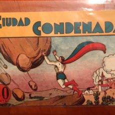 Livros de Banda Desenhada: CICLÓN EL SUPERHOMBRE. Lote 117455402