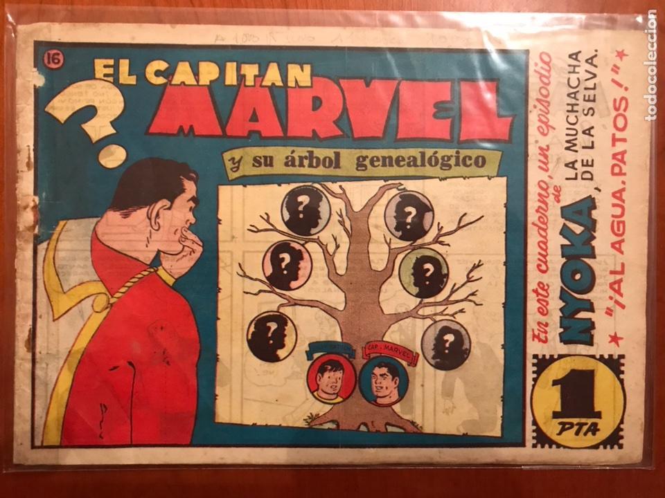 CAPITÁN MARVEL ORIGINAL 16 (Tebeos y Comics - Hispano Americana - Capitán Marvel)