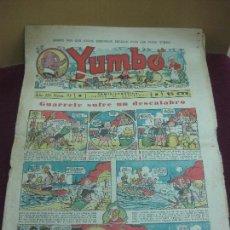 Tebeos: YUMBO NUM. 97. HISPANO AMERICANA 23 SEPTIEMBRE 1936.. Lote 115075763