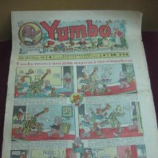 Tebeos: YUMBO NUM. 93. HISPANO AMERICANA 26 DE AGOSTO DE 1936.. Lote 115076571