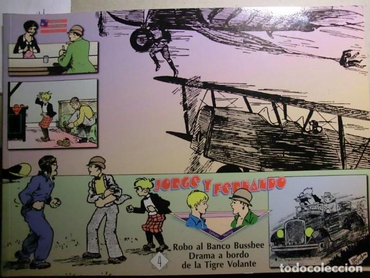JORGE Y FERNANDO COMPLETA 4 TOMOS J. ESTEVE Y EL BOLETIN (Tebeos y Comics - Hispano Americana - Jorge y Fernando)