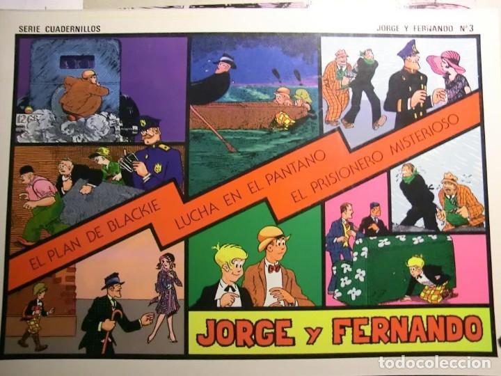 Tebeos: JORGE Y FERNANDO COMPLETA 4 TOMOS J. ESTEVE Y EL BOLETIN - Foto 2 - 115133335