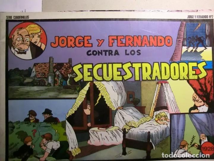 Tebeos: JORGE Y FERNANDO COMPLETA 4 TOMOS J. ESTEVE Y EL BOLETIN - Foto 3 - 115133335