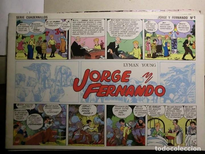 Tebeos: JORGE Y FERNANDO COMPLETA 4 TOMOS J. ESTEVE Y EL BOLETIN - Foto 4 - 115133335