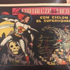 Tebeos: CICLÓN EL SÚPER HOMBRE LA FORTALEZA DE LA MUERTE. Lote 115312920