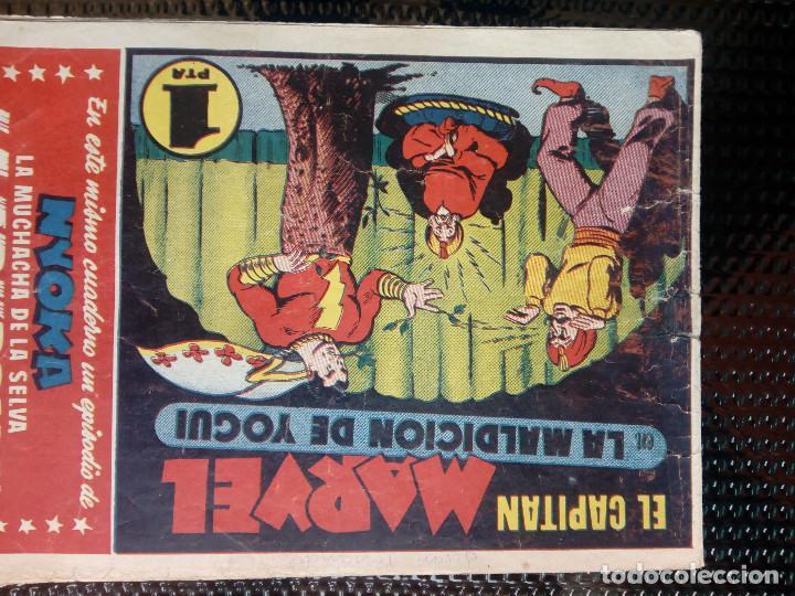COMIC EL CAPITAN MARVEL - HISP.AMERI.EDIC. 1947 - ORIGINAL (M-1) (Tebeos y Comics - Hispano Americana - Otros)