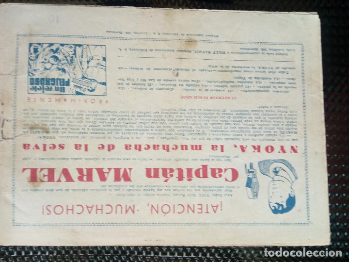 Tebeos: COMIC EL CAPITAN MARVEL - HISP.AMERI.EDIC. 1947 - ORIGINAL (M-1) - Foto 2 - 116200707