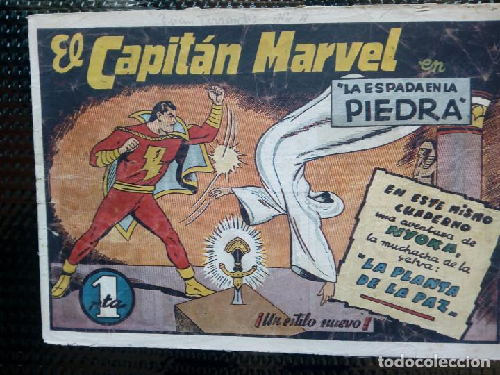 COMIC EL CAPITAN MARVEL - HISP.AMERI.EDIC. 1947 - ORIGINAL (M-1) (Tebeos y Comics - Hispano Americana - Capitán Marvel)