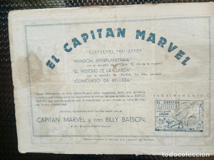 Tebeos: COMIC EL CAPITAN MARVEL - HISP.AMERI.EDIC. 1947 - ORIGINAL (M-1) - Foto 2 - 116203847