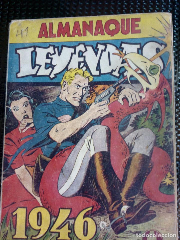 ALMANAQUE LEYENDAS 1946 - ORIGINAL - EDT. HISP.AMER. (M-1) (Tebeos y Comics - Hispano Americana - Leyendas Infantiles)
