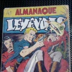 Tebeos: ALMANAQUE LEYENDAS 1946 - ORIGINAL - EDT. HISP.AMER. (M-1). Lote 116241587