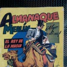 Tebeos: ALMANAQUE MERLIN 1944 - ORIGINAL - EDC. HISP. AMER. (M-1). Lote 116242339