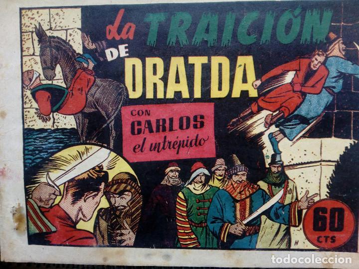 COMIC CARLOS EL INTREPIDO - ORIGINAL - EDC. HISP.AMER. 1942 (M-1) (Tebeos y Comics - Hispano Americana - Carlos el Intrépido)