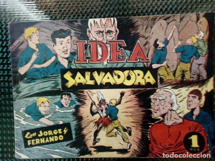COMIC JORGE Y FERNANDO - ORIGINAL - HISP. AMER. DE EDIC. ( M-1 ) (Tebeos y Comics - Hispano Americana - Jorge y Fernando)