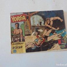 Tebeos: YORGA Nº 24 HISPANO AMERICANA ORIGINAL. Lote 116661343