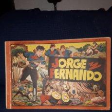Tebeos: NÚMERO 9 JORGE Y FERNANDO HISPANO AMERICANA. Lote 117468628