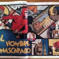 Tebeos: HOMBRE ENMASCARADO Nº1 ORIGINAL. Lote 118236823