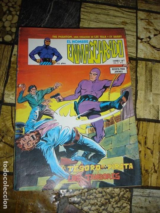 LOTE DE 41 EJEMPLARES DEL HOMBRE ENMASCARADO EDICIONES VERTICE VER FOTOS PARA LA NUMERACION (Tebeos y Comics - Hispano Americana - Hombre Enmascarado)