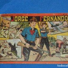 Tebeos: (M4) JORGE Y FERNANDO NUM 8 , EDT HISPANO AMERICANA , SEÑALES DE USO. Lote 118574631