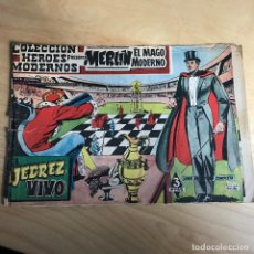 Tebeos: MERLIN EL MAGO MODERNO . Nº 1 . EL AJEDREZ VIVO. Lote 118764647