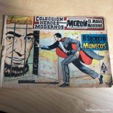 Tebeos: MERLIN EL MAGO MODERNO . EL SECRETO DE LOS MUÑECOS . Nº 15 .. Lote 118765643