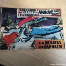 Tebeos: MERLIN EL MAGO MODERNO . LA MAGIA DE MERLIN Nº 11. Lote 118766147