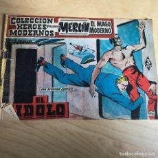 Tebeos: MERLIN EL MAGO MODERNO . EL IDOLO Nº 10 .. Lote 118766375