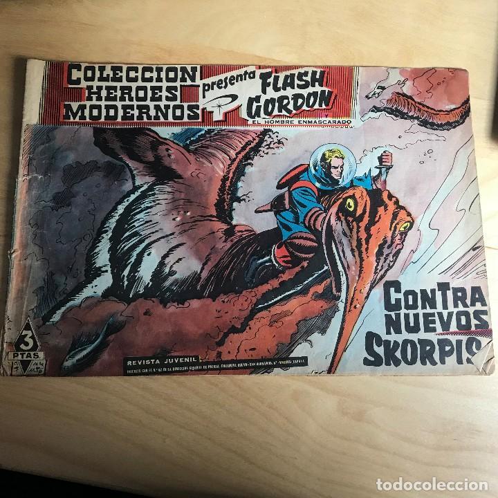 FLASH GORDON Y EL HOMBRE ENMASCARADO . Nº 67 . CONTRA NUEVOS SKORPIS (Tebeos y Comics - Hispano Americana - Flash Gordon)