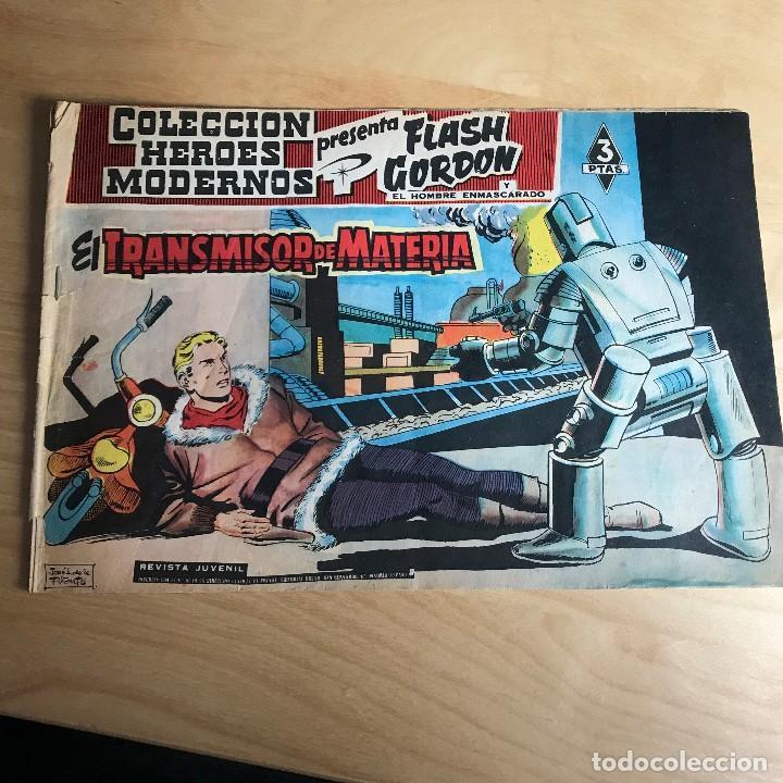 FLASH GORDON Y EL HOMBRE ENMASCARADO . Nº 62 . EL TRANSMISOR DE MATERIA (Tebeos y Comics - Hispano Americana - Flash Gordon)
