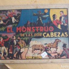 Tebeos: HISPANO AMERICANA,- MERLIN Nº 7 EL MONSTRUO DE LAS DOS CABEZA . Lote 119285671