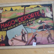 Tebeos: HISPANO AMERICANA,- MERLIN Nº 8 EL MAGO DEL DEPORTE. Lote 119286011