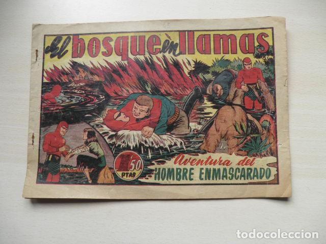 TEBEO DE EL HOMBRE ENMASCARADO. (Tebeos y Comics - Hispano Americana - Aventurero)