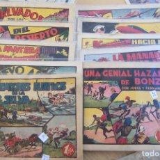 Tebeos: HISPANO AMERICANA,- LOTE 17 Nº A.P.J. DE JORGE Y FERNANDO TAMAÑO GRANDE. Lote 119339027
