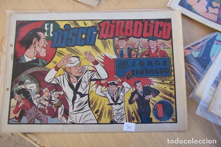 HISPANO AMERICANA,- JORGE Y FERNANDO Nº 52 EL DISCO DIALOLICO (Tebeos y Comics - Hispano Americana - Jorge y Fernando)