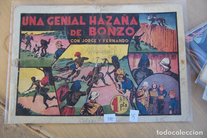 HISPANO AMERICANA,- JORGE Y FERNANDO Nº 35 UNA GENIAL HAZAÑA DE BONZO. (Tebeos y Comics - Hispano Americana - Jorge y Fernando)