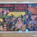 Tebeos: HISPANO AMERICANA,- JORGE Y FERNANDO Nº 35 UNA GENIAL HAZAÑA DE BONZO. . Lote 119340327