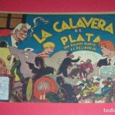 Tebeos: RICARDO BARRIO EL PELIRROJO Nº 1 LA CALAVERA DE PLATA HISPANO AMERICANA ORIGINAL DEL AÑO 1941. Lote 119408667